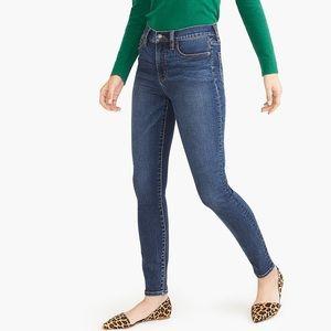 J. Crew Curvy Skinny High Rise Jeans